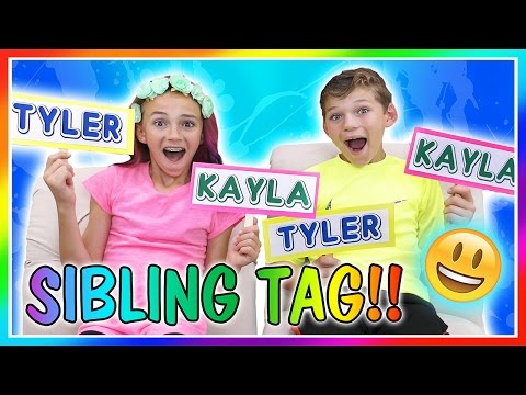 THE SIBLING TAG   We Are The Davises