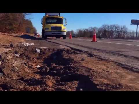 Clean Soils Env. Directing Oil Spill Roadway Cleanup in Chicopee, MA