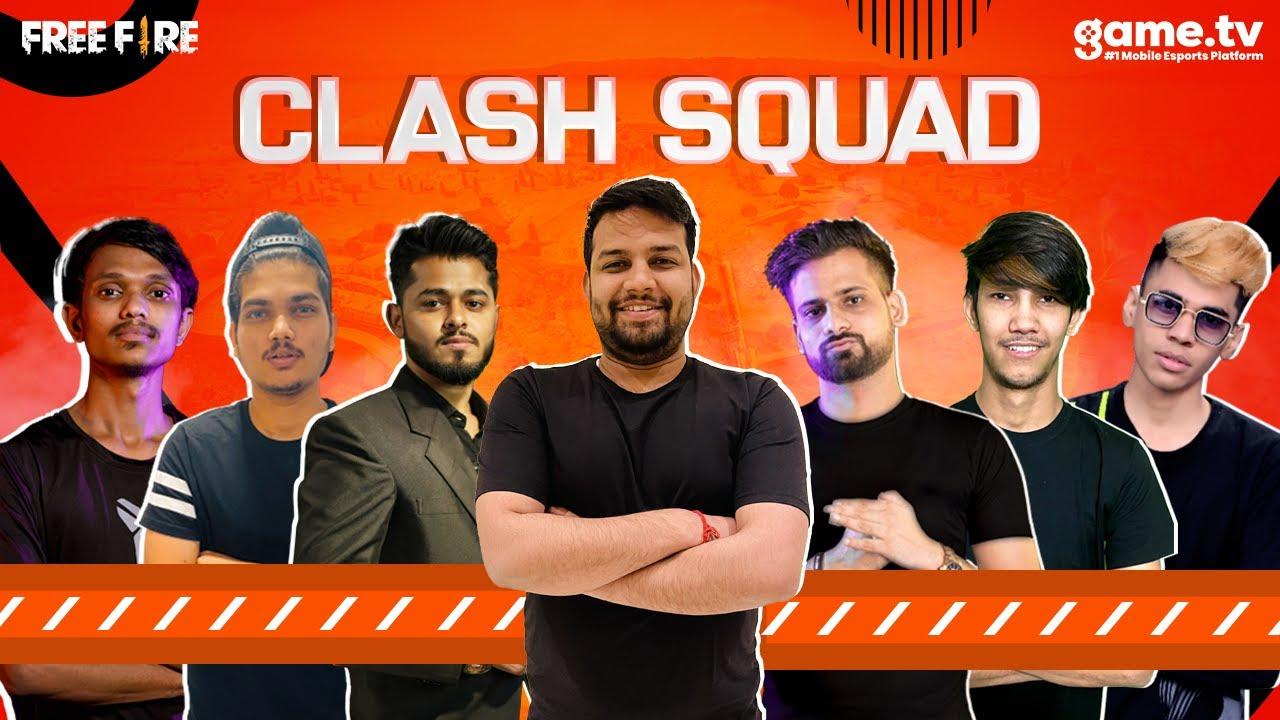 Free Fire | Mega Competitive Clash Squad - Powered by game.tv Elite, GXR, TSG, TG, 6S, UG