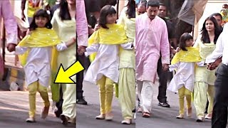 Aishwarya Rai Daughter Aaradhya Bachchan Walking Abnormally