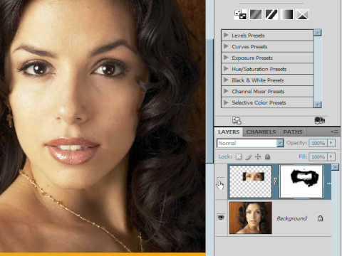 How To Make Eyes Bigger Photoshop CS4 Lesson 6