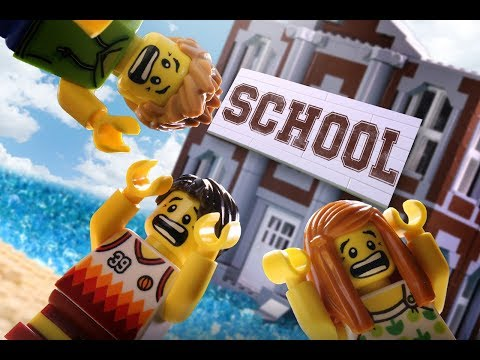 School is Coming! - LEGO Stop Motion Movie