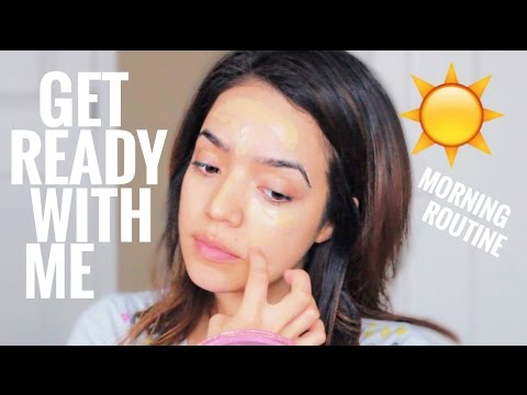 Get Ready With Me   Morning Routine   Makeup, Hair + Outfit
