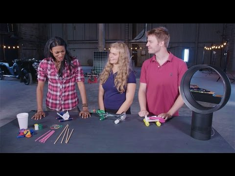 Educational Activities for Kids: Balloon Car Race