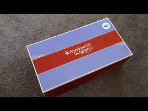 Unboxing The American Girl Doll Gymnastics Set And 2 in 1 Gymnastics Outfit
