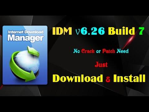 Internet Download Manager 6 26 Build 7 [Download & Install Enjoy Full Version]