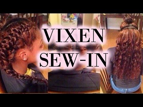 Sew In Tutorial Vixen Braid Pattern Getplaypk The Faste