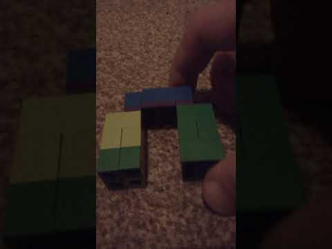 how to make lego Minecraft mutant zombie