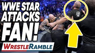WWE Star Attacks Fan At SmackDown! WWE SmackDown Sept. 10, 2019 Review | WrestleTalk's WrestleRamble