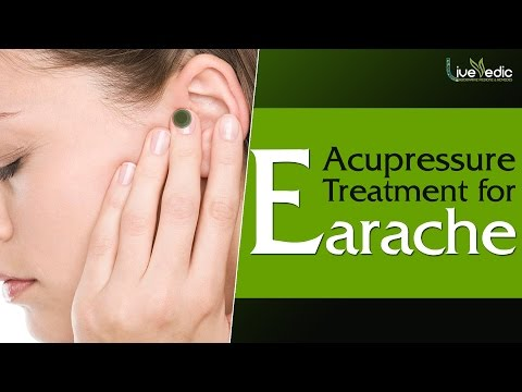 Acupressure Treatment For Earache | Simple & Easy Step | Live Vedic