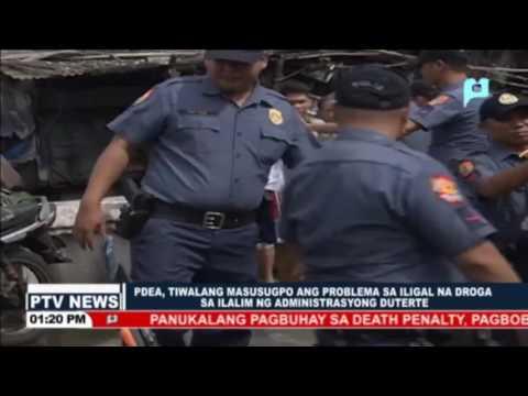 PDEA, tiwalang masusugpo ang problema sa iligal na droga sa ilalim ng Administrasyong Duterte