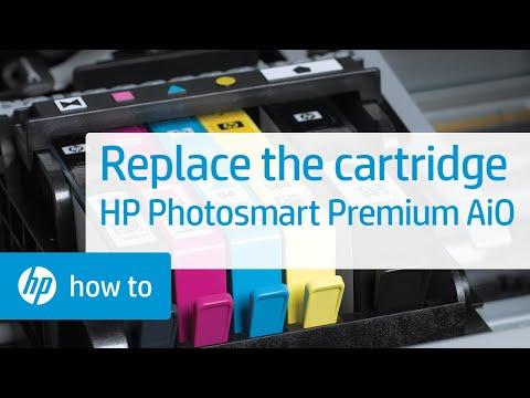 Replacing a Cartridge - HP Photosmart Premium All-in-One Printer (C309g)