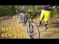 Jamis Hardline FIRST LOOK - Macky's New Bike!