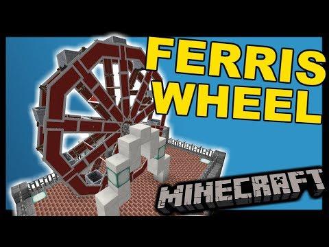 [1.12 Vanilla Minecraft] Working Ferris Wheel - One Structure Command