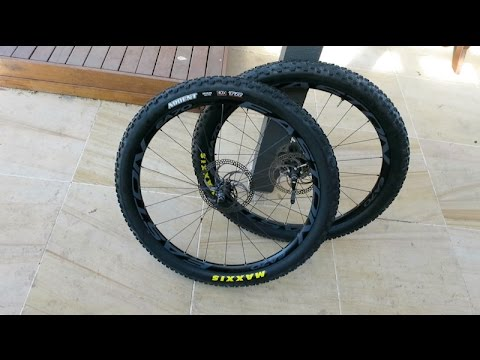 Maxxis Ardent EXO TR - Tubeless install