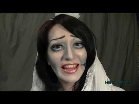 ☠Emily, The Corpse Bride (Tim Burton Halloween makeup tutorial)☠