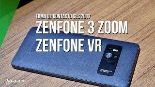 Asus Zenfone 3 Zoom y Zenfone VR, primeras impresiones desde CES 2017