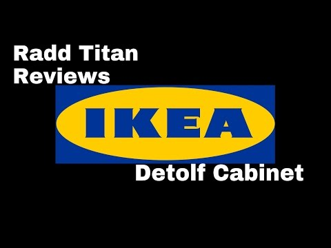 Ikea Detolf display cabinet review
