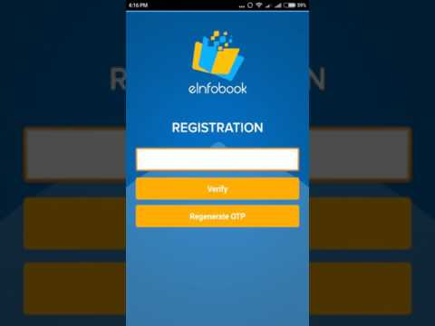 Canara Bank E infobook application registration procedure