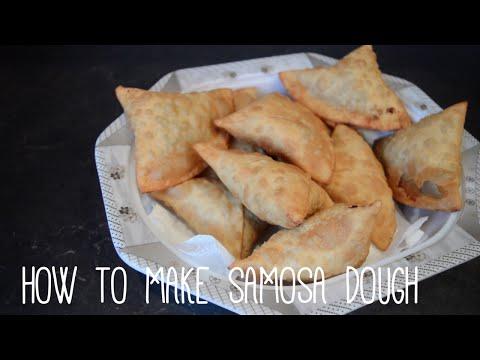 HOW TO MAKE SAMOSA DOUGH
