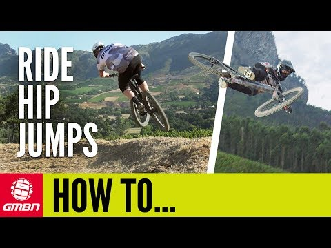 How To Ride Hip Jumps On Your Mountain Bike   MTB Skills
