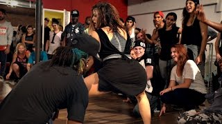 Chris Brown - Poppin | WilldaBeast Adams & Janelle Ginestra Choreography - @chrisbrown @timmilgram