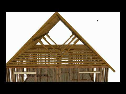What Is A Roof Purlin? – House Framing And Construction