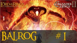 Middle Earth Project - Balrog #1 - Ruler Creator