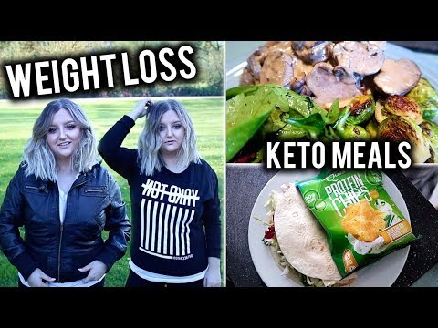 WHAT I EAT IN A WEEK | KETO MEALS TO LOSE WEIGHT + CLOTHING TRY ON HAUL