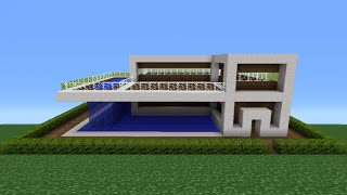 Minecraft Tutorial How To Make A Quartz House 11