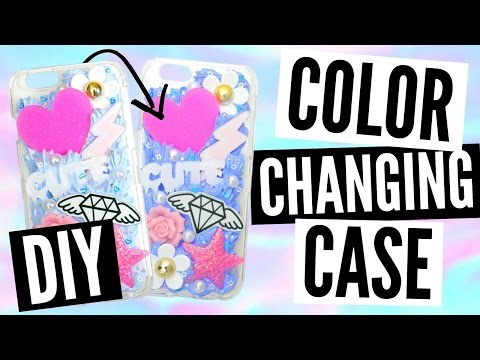 DIY Color Changing Decoden Phone Case Tutorial