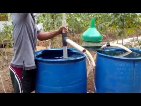 PVC  double action water pump