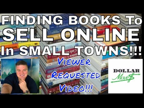 How to Find Books To Sell In Small Towns (for Amazon.com FBA) | Selling Books Online From Anywhere!