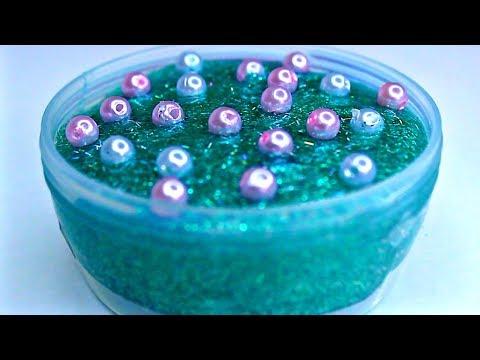 Satisfying Slime ASMR - Beaded Slime
