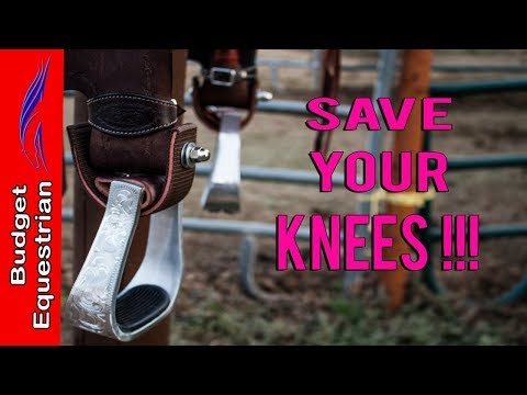 How To Turn The Stirrups Of A Western Saddle Permanently