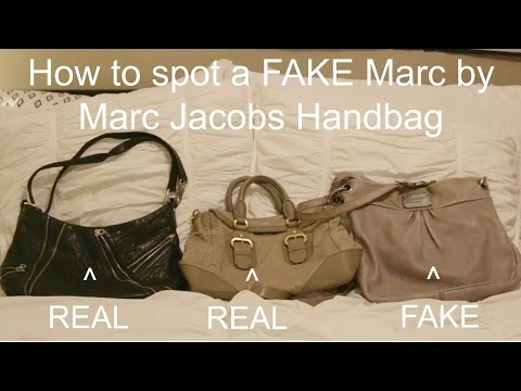 How to spot a FAKE Marc By Marc Jacobs Bag