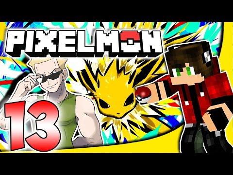Pixelmon ITA #13 ◓ NUOVI POKEMON E LA PALESTRA ELETTRO!