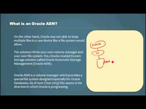 What is an Oracle ASM? - Database Tutorial 29