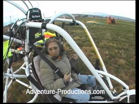 Learning to Fly a Powered Parachute