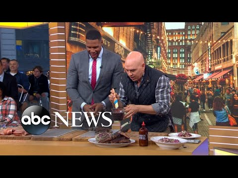 'The Chew' co-host shares how to make his signature ribs