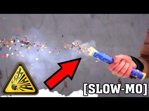 Amazing slow mo fireworks
