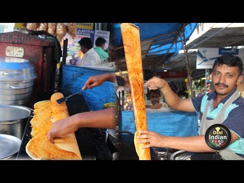 The Most Amazing Talent in India | Street Food, Paper Dosa