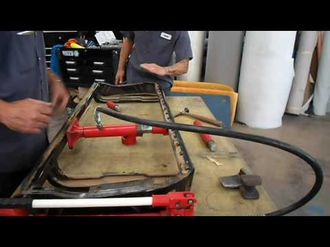 How to Upholster a Bench Seat - Automotive Pt.1