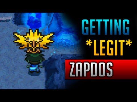 How & Where to catch/get - *LEGIT* Zapdos in Pokemon Black 2 & Pokemon White 2