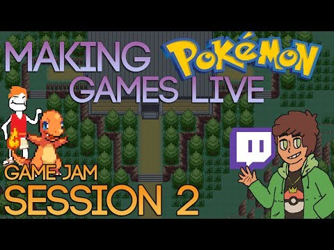 Making Pokemon Games Live (Game Jam Session 2)