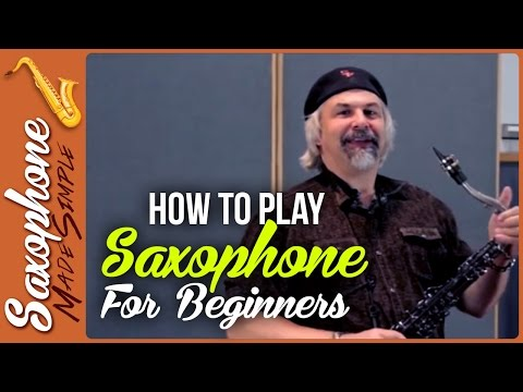 How to Play Saxophone for Beginners - Putting the Saxophone Together