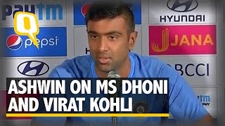 The Quint| In Terms of Communication, MS Dhoni Still Holds the Key: Ashwin