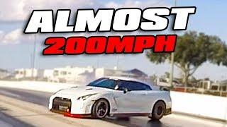 High speed WRECK destroys GTR!