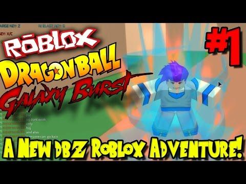 A NEW DBZ ROBLOX ADVENTURE!   Roblox: Dragon Ball Galaxy Burst