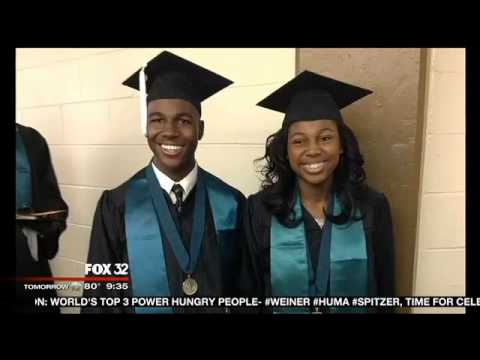 Fox News 32 - 14 Year Old Girl Set to Graduate from College